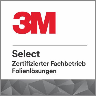 3M Select Zertifizierter Fachbetrieb für Folienlösungen