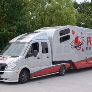 Pinball Universe Truckbeschriftung