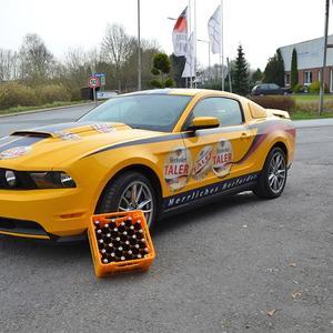 Fahrzeugvollfolierung für Herforder Pils Taler-Aktion