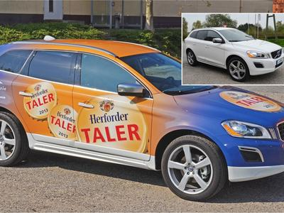 Car Wrapping Herforder Pils
