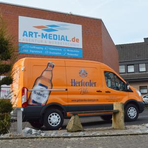 CarWrapping Herforder Pils