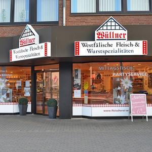 Schaufensterbeschriftung Wuellner