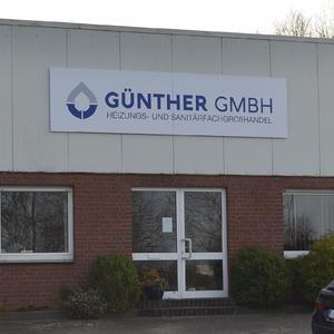 Werbeschild Günther