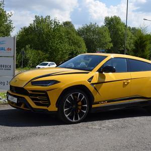 Lamborghini Urus Fahrzeugfolierung