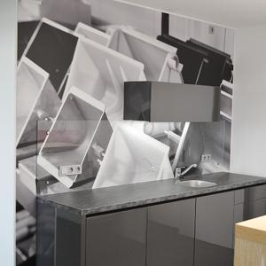 Rückwandfolierung in der Küche