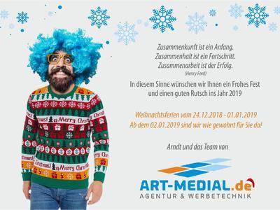Weihnachten art-medial