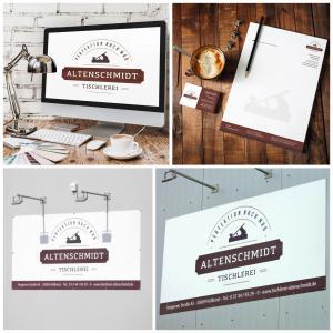 Logo Design Visitenkarten Briefpapier