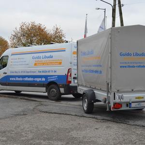 Transporter- und Anhängerbeschriftung