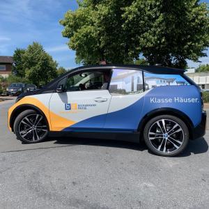 BMW i3s Beschriftung