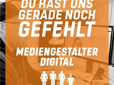 Stellenanzeige Mediengestalter Digital