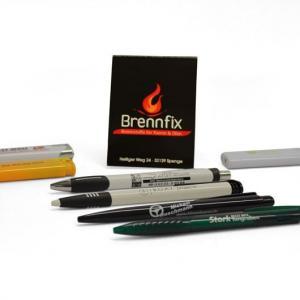 Werbeartikel Kugelschreiber Feuerzeuge