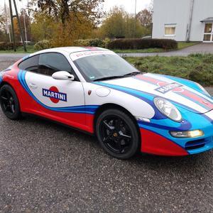 Porsche Martini Beschriftung