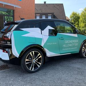 Werbefolierung BMWi3