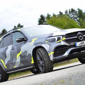Carwrapping Mercedes Benz GLE