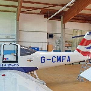 Folierung Flugzeug