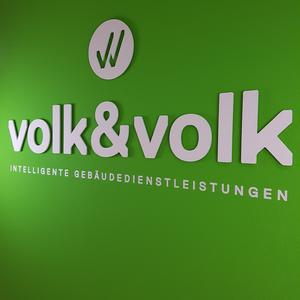 3D Buchstaben Volk & Volk
