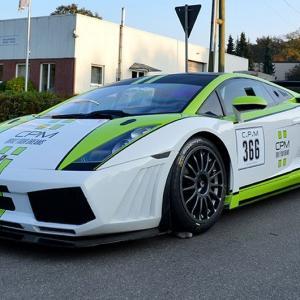 Lamborghini Folierung