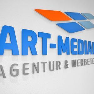 3D Buchstaben art-medial.de