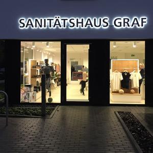 Sanitätshaus Graf 3D Buchstaben