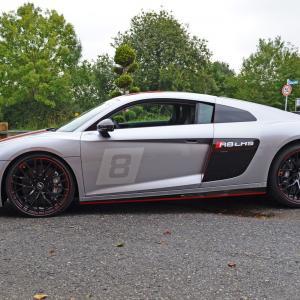 Audi R8 GT4 Beschriftung