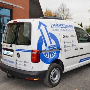 Fahrzeugbeschriftung VW Caddy