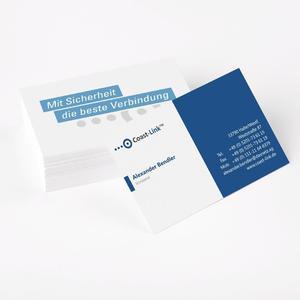 Visitenkarten: Egal ob Kleinstauflagen bis 200 Stück oder Großauflagen