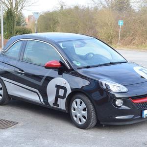 Fahrzeugbeschriftung Opel Adam